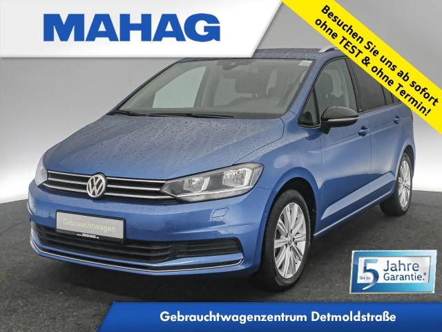 Volkswagen Touran 1.5 TSI IQ.DRIVE 7-Sitzer Navi Kamera Sitzhz. ParkAssist LightAssist FrontAssist 17Zoll 6-Gang, Jahr 2020, Benzin