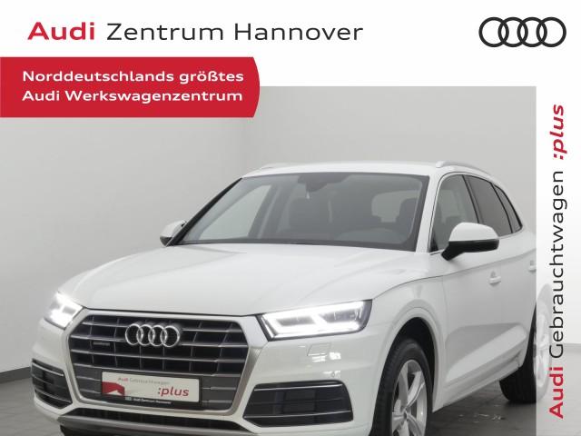 Audi Q5 40 TDI Sport, virtual, LED, AHK, Navi, Alcantara, Jahr 2019, Diesel
