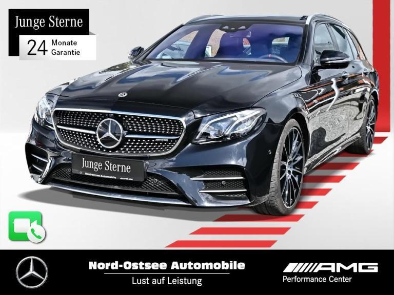 Mercedes-Benz E 53 AMG Comand 4M Drivers P. 360° Pano AHK LED, Jahr 2018, Benzin
