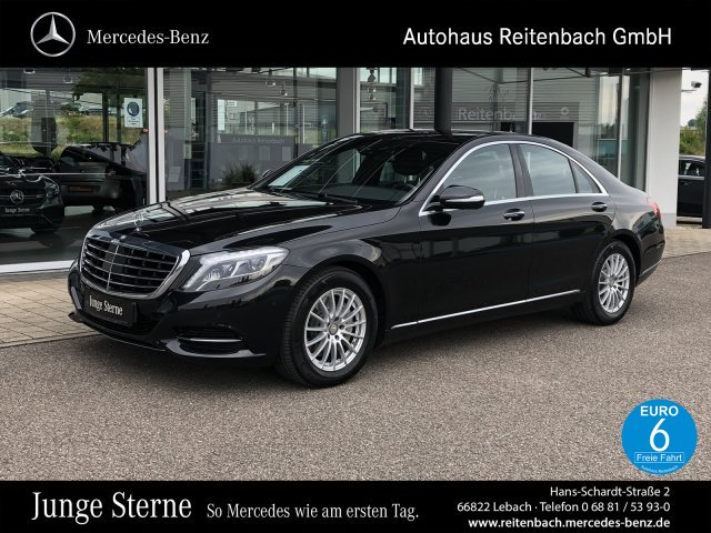 Mercedes-Benz S 350 d4M+NAVI+DISTR+LED+MEMOR+ 360Kam+SITZKLIM, Jahr 2015, Diesel