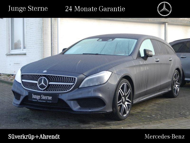 Mercedes-Benz CLS 500 SB 4M AMG Line Night Distronic Airmatic, Jahr 2016, petrol