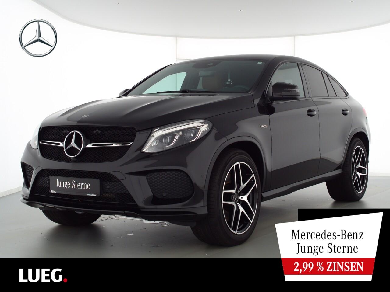 Mercedes-Benz GLE 43 AMG 4M Coupe COM+LED-ILS+Air+21+Night+360, Jahr 2019, Benzin