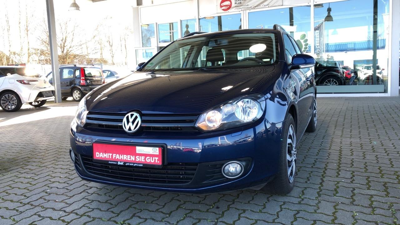 Volkswagen Golf TRENDLINE VARIANT 1.2 TSI*NAVI*SHZ*ALLWETTE, Jahr 2012, Benzin