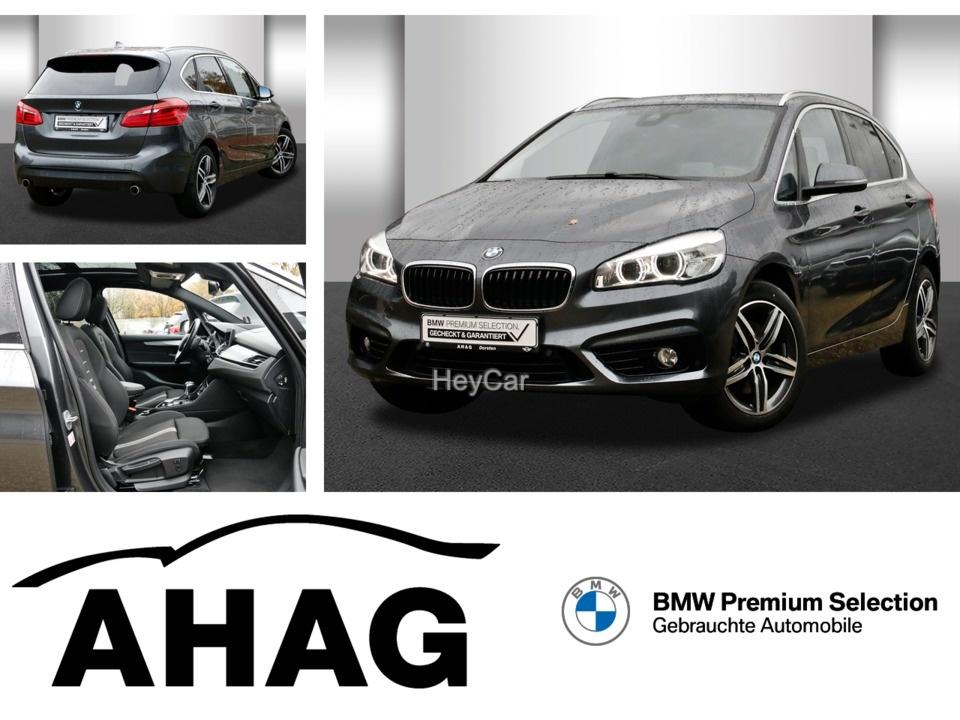 BMW 220 Active Tourer Sport Line*Navi*Kamera*AHK, Jahr 2017, Diesel