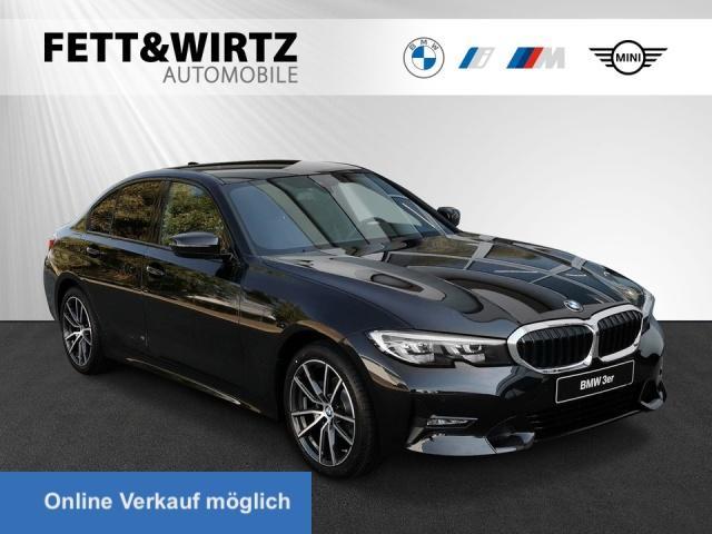 BMW 318i Aut. Sport Line Navi LED HiFi Sitzhzg 18''LM, Jahr 2021, Benzin