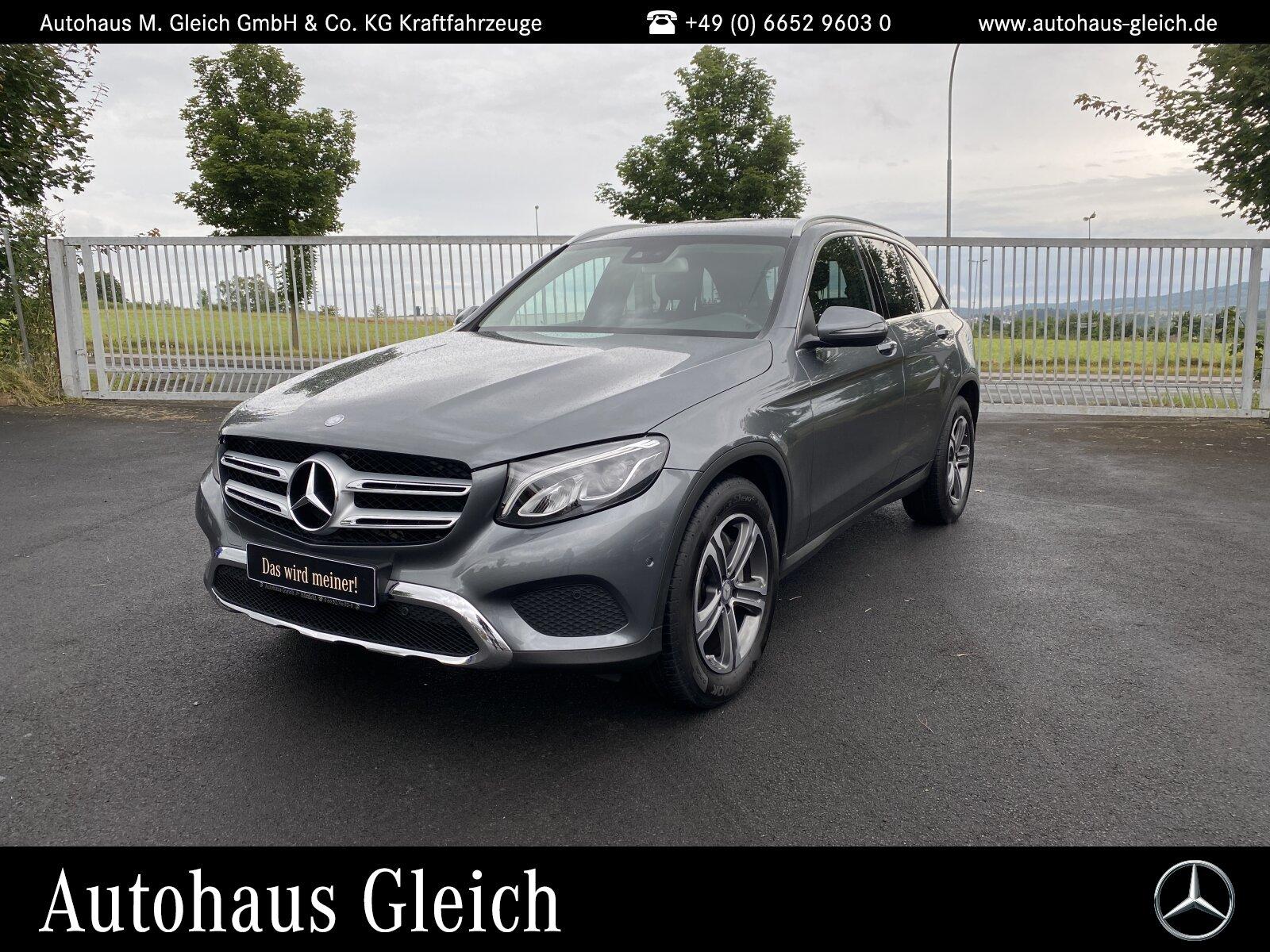 Mercedes-Benz GLC 220 d 4MATIC EXCLUSIVE Exterieur/Navi/Autom., Jahr 2016, Diesel