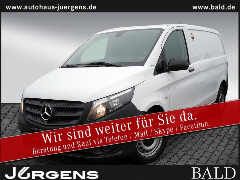 Mercedes-Benz VITO 111 KASTEN KOMPAKT+KLIMA+3-SITZE+HOLZ, Jahr 2016, Diesel