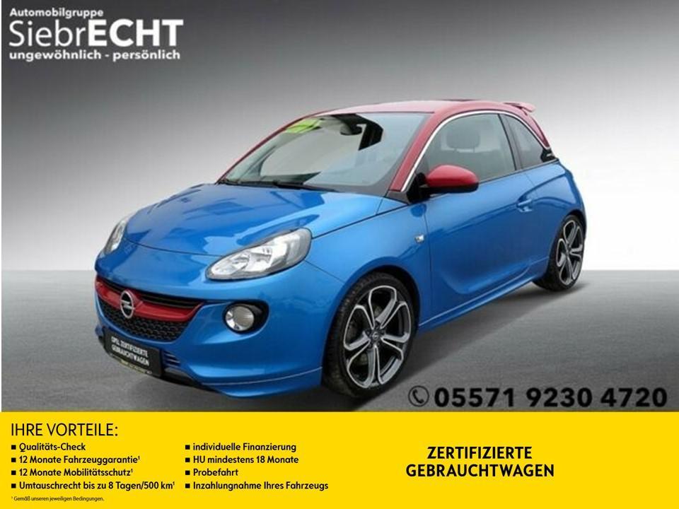 "Opel Adam S S/S*CD 3.0 BT*Klimaautomatik*18""LM*uvm, Jahr 2015, petrol"