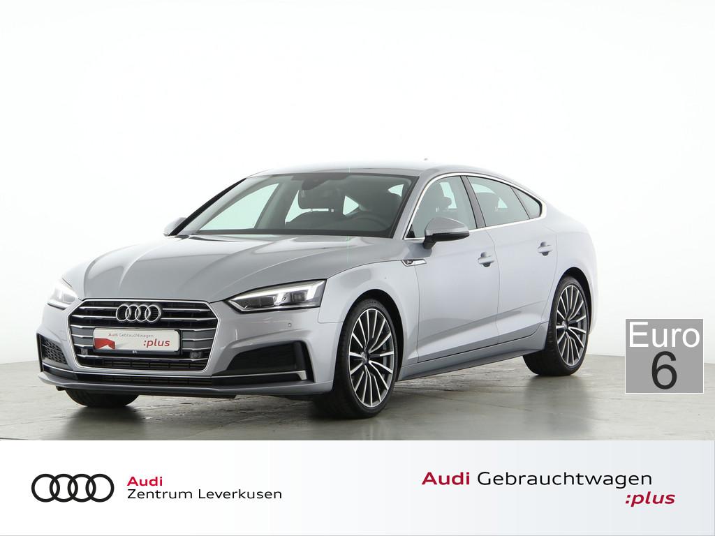 Audi A5 Sportback 2.0 FSI LEDER KAMERA LED B&O, Jahr 2018, Benzin