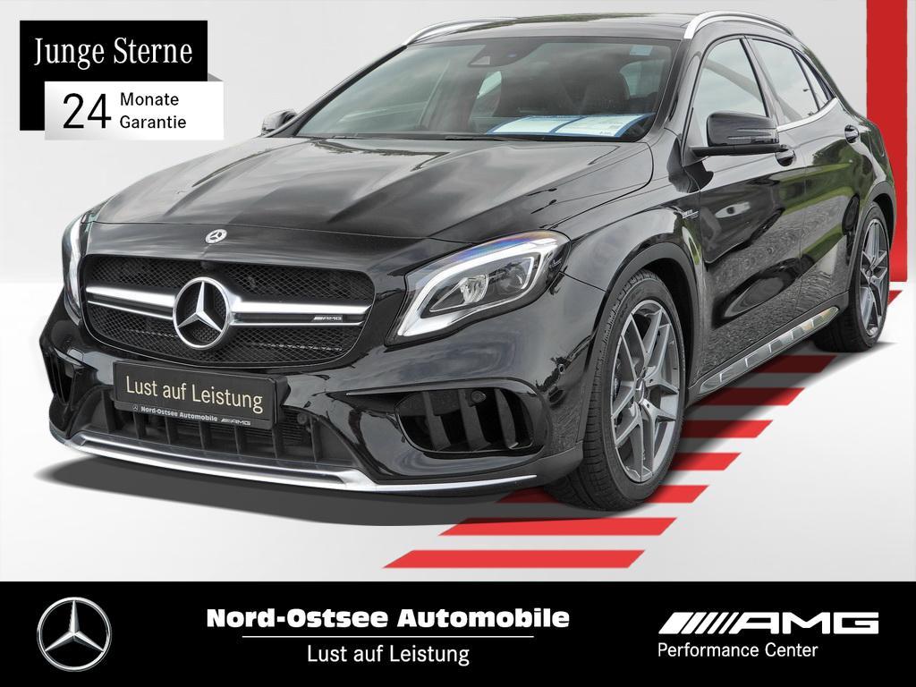 Mercedes-Benz GLA 45 AMG 4M Navi+P.Abgasanlage+Pano+LED+, Jahr 2018, petrol