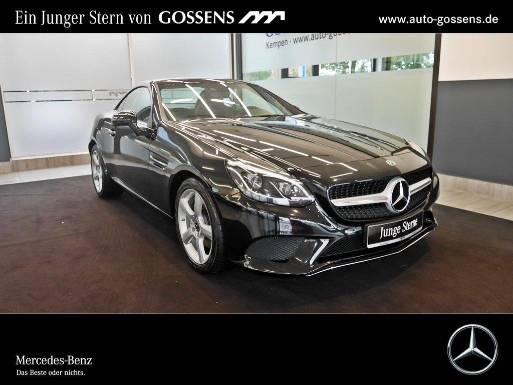 Mercedes-Benz SLC 200 +ILS+SHZ+PTS+TWA+AIRSCARF+, Jahr 2018, petrol