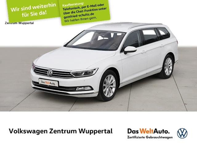 Volkswagen Passat Var. 2,0 TDI Highline DSG NAVI LED LEDER SHZ PDC LM, Jahr 2018, Diesel