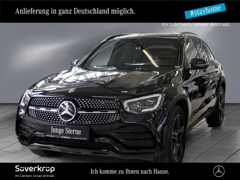 Mercedes-Benz GLC 400 d 4M AMG Line PANO++AHK++DISTRONIC+LEDER, Jahr 2020, Diesel