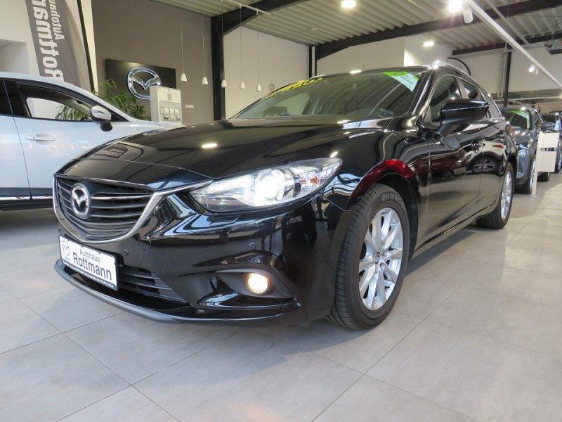 Mazda 6 Neu 2.0l SKYACTIV-G 121 kW (165 PS),Center-Line,1.Hand,2x PDC... Center-Line1.Hand,Navi,Sitzheizung,BI-XE, Jahr 2013, Benzin