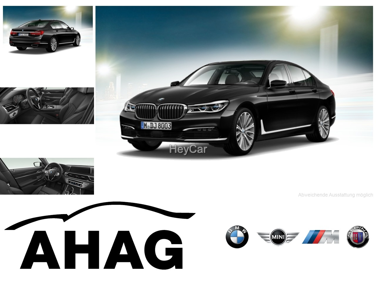 BMW 730d Innovationsp. Navi Prof. Sport Aut. Head-Up, Jahr 2016, Diesel