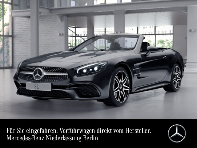 Mercedes-Benz SL 400 AMG Pano Harman Distr+ COMAND ILS LED 9G, Jahr 2019, Benzin