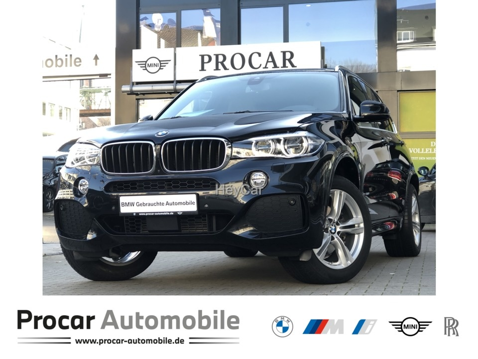 BMW X5 xDrive30d M Paket DA+ Pano HuD AHK H/K LED, Jahr 2017, Diesel
