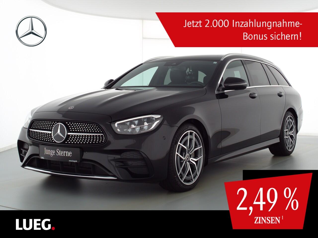 Mercedes-Benz E 220 d T 4M AMG+MBUXHighE+SHD+LED-HP+19+AHK+RFK, Jahr 2020, Diesel