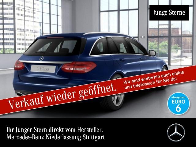 Mercedes-Benz C 400 T 4M Exclusive designo Burmester Distr+ HUD, Jahr 2017, Benzin