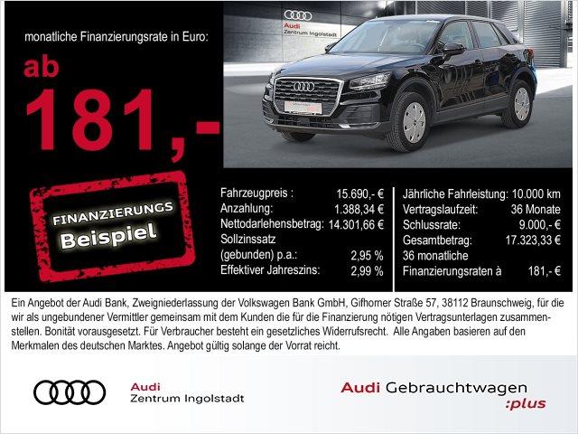 Audi Q2 1.0 TFSI ultra PDC DAB SHZ Bluetooth, Jahr 2017, Benzin