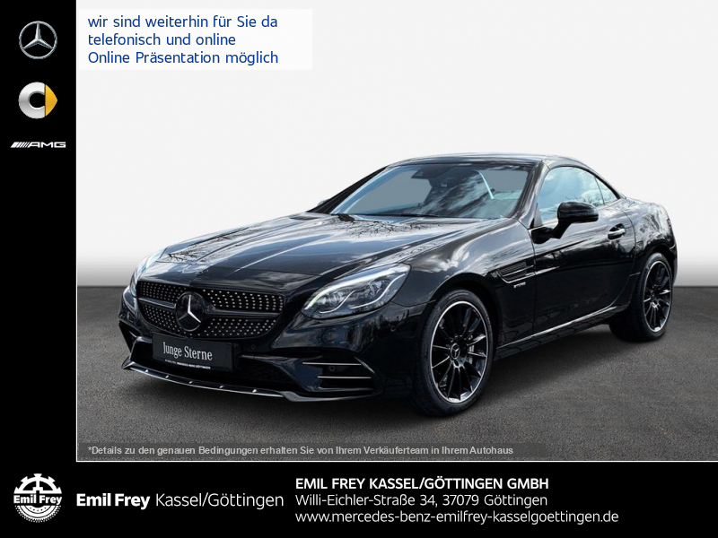 Mercedes-Benz SLC 43 AMG+COMAND+HiFi+Distro+MagicSky+Airguide, Jahr 2016, Benzin