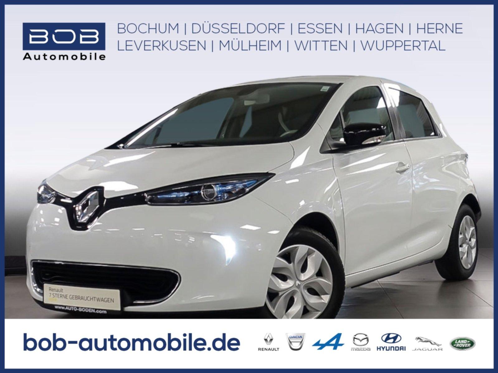 Renault ZOE LIFE R240 Batteriemiete NAVI KLIMA BT ZV eFH, Jahr 2016, Elektro