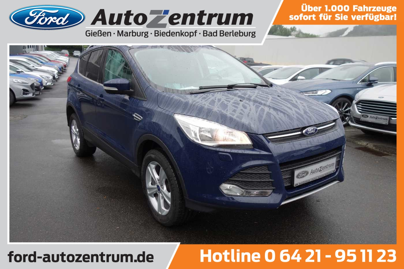 Ford Kuga 1.5 EcoBoost SYNC Edition PDC/Park-Ass, Jahr 2015, Benzin