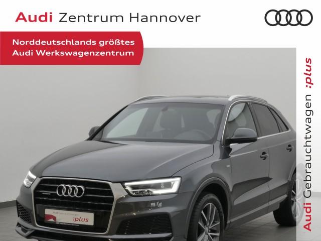 Audi Q3 2.0 TFSI sport Pano LED BOSE Teilleder Navi, Jahr 2017, Benzin