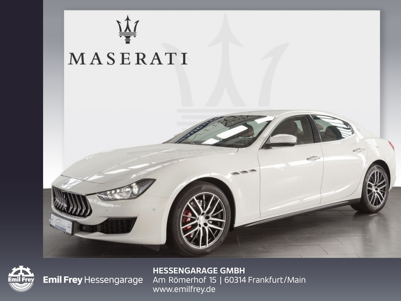 Maserati Ghibli ZF-Aut. Euro6d-Temp Kamera 19'' Keyless-Go, Jahr 2018, Benzin