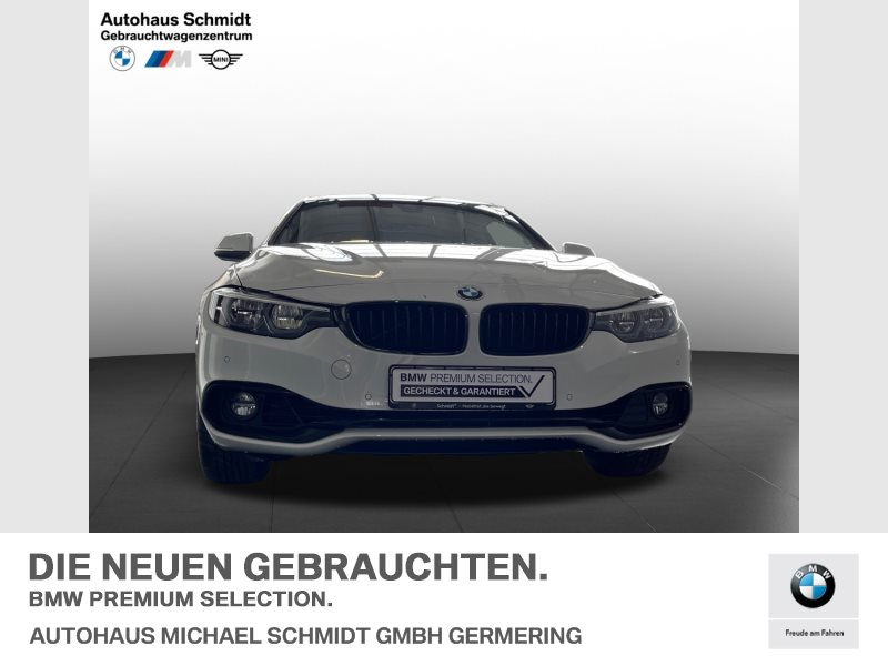 BMW 440i xDrive SPORT LINE+GLASDACH+NAVI PROF+MEMORY+, Jahr 2020, Benzin