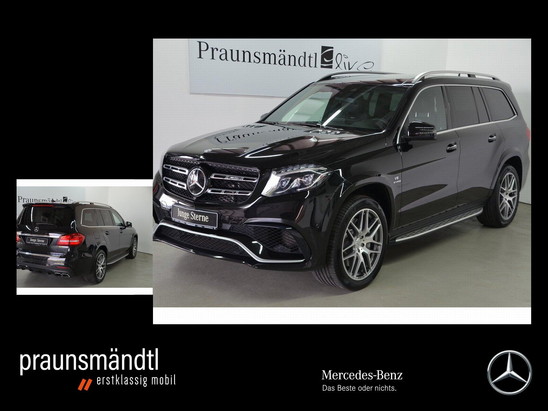 Mercedes-Benz GLS 63 4M AMG AIRMATIC/Distr/COMAND/Tot/Panorama, Jahr 2016, Benzin