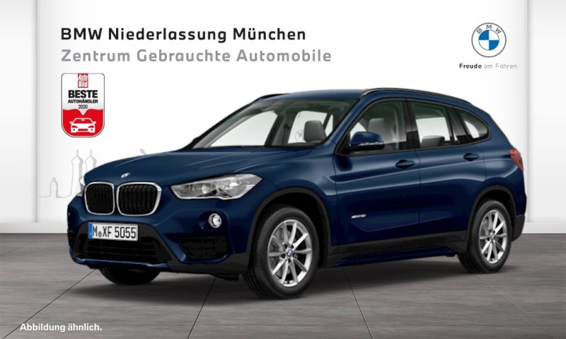 BMW X1 sDrive18i Sport Line HiFi Var. Lenkung LED, Jahr 2016, Benzin