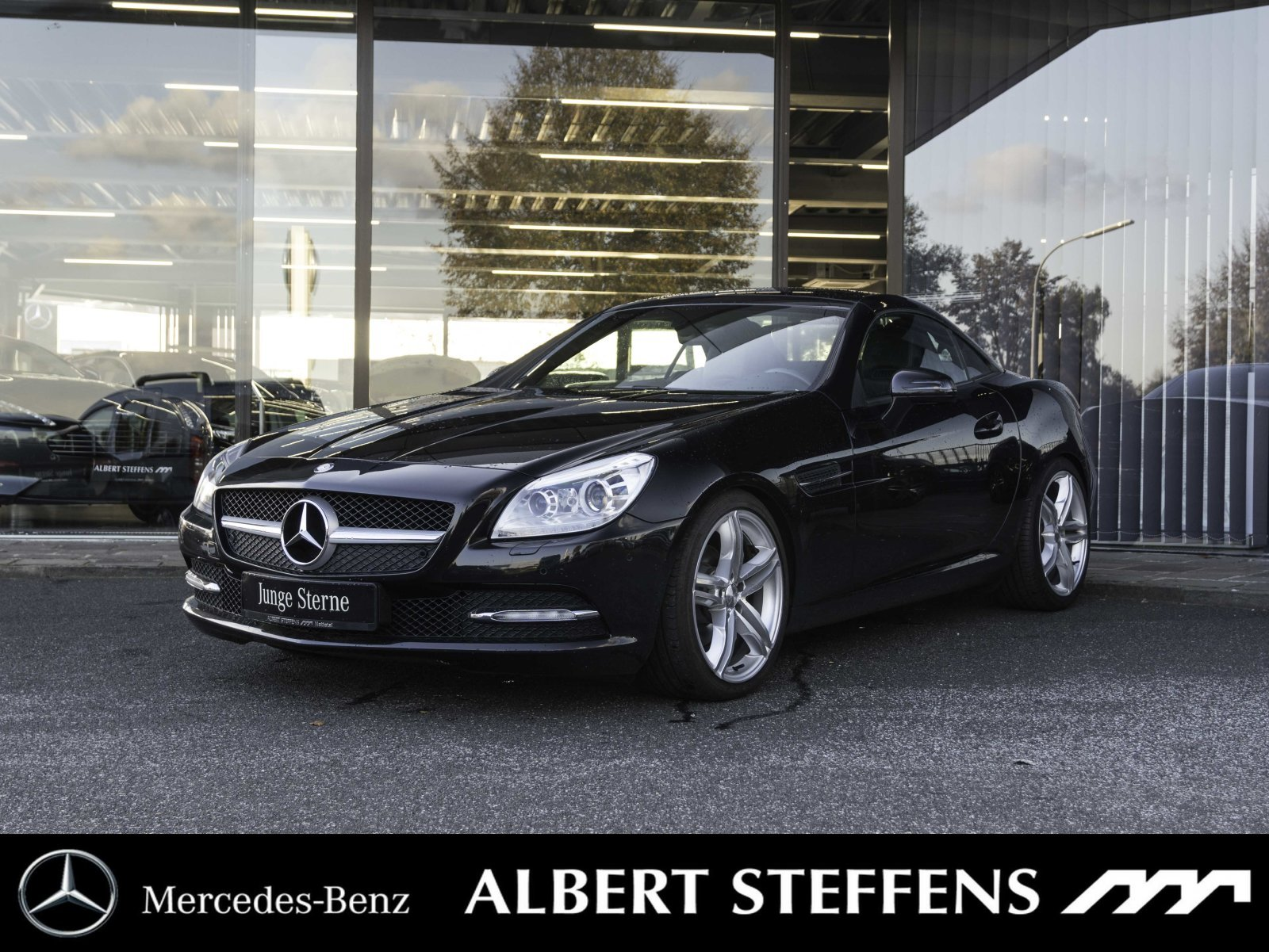 Mercedes-Benz SLK 200 Roadster Xenon*PTS*NAVI*18'' Autom./BC, Jahr 2012, petrol