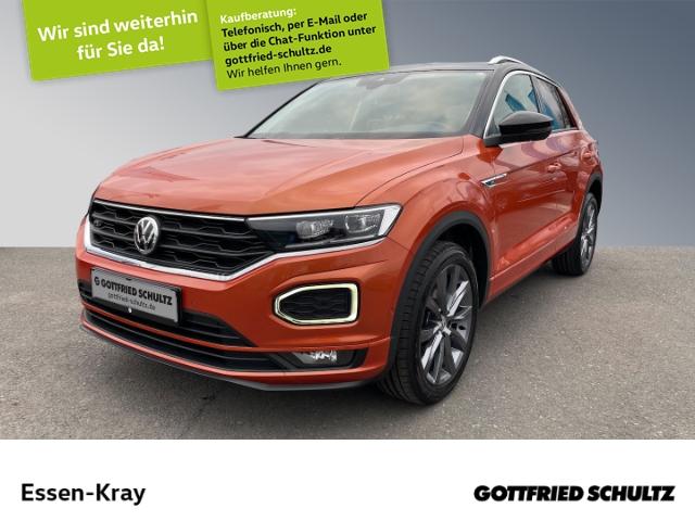 Volkswagen T-Roc Style 1.0 TSI LED NAVI Alu18 RFK SHZ DAB, Jahr 2018, Benzin