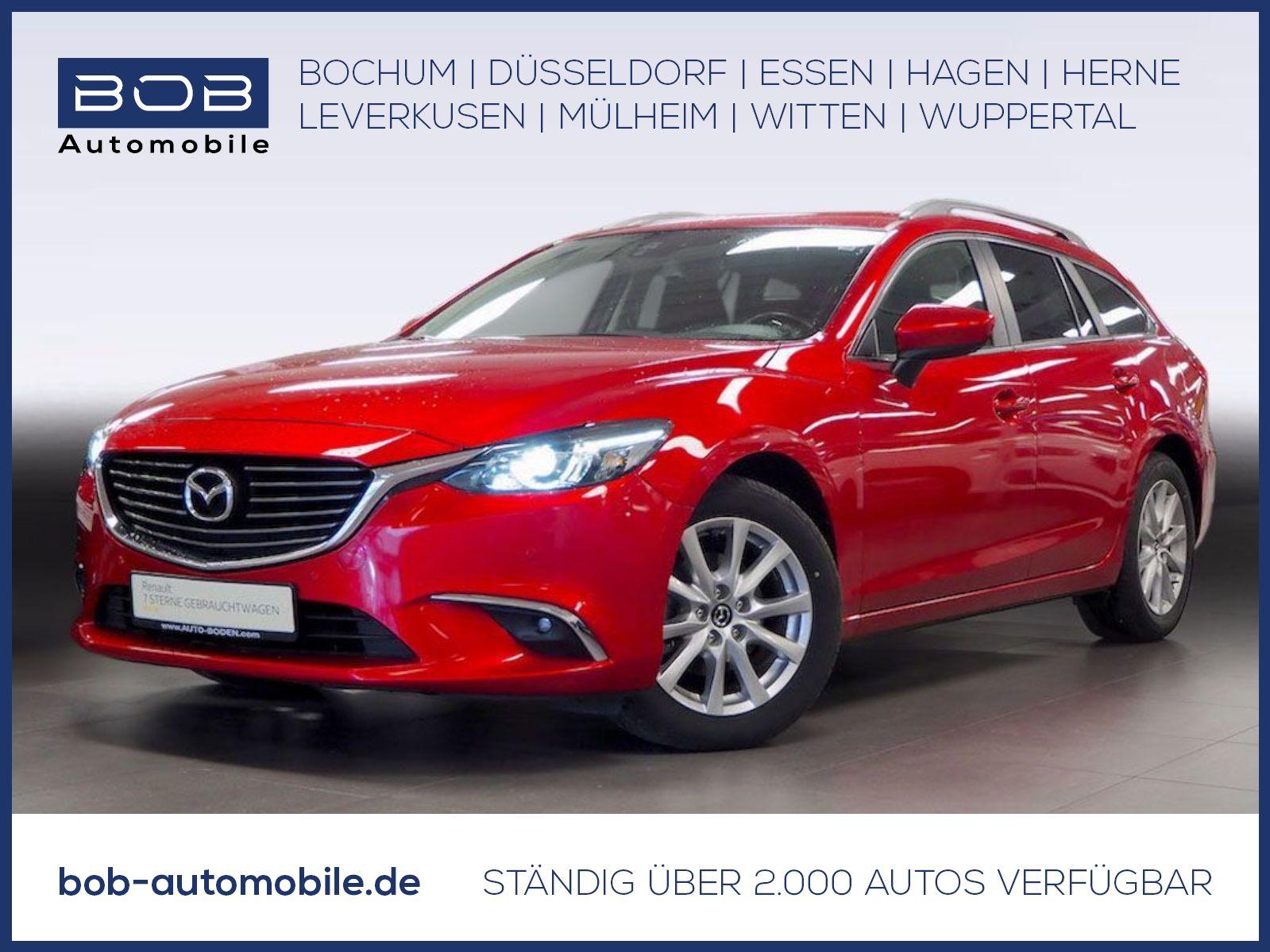 Mazda 6 Kombi 165 Aut. EXCLUSIVE-LINE NAVI SHZ PDC LED, Jahr 2015, Benzin