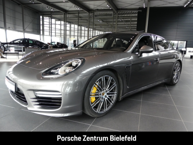 Porsche Panamera Turbo S Leder/LED/Burmester/Dyn. Kurvenlicht/ACC/Sitzbelüft., Jahr 2016, Benzin