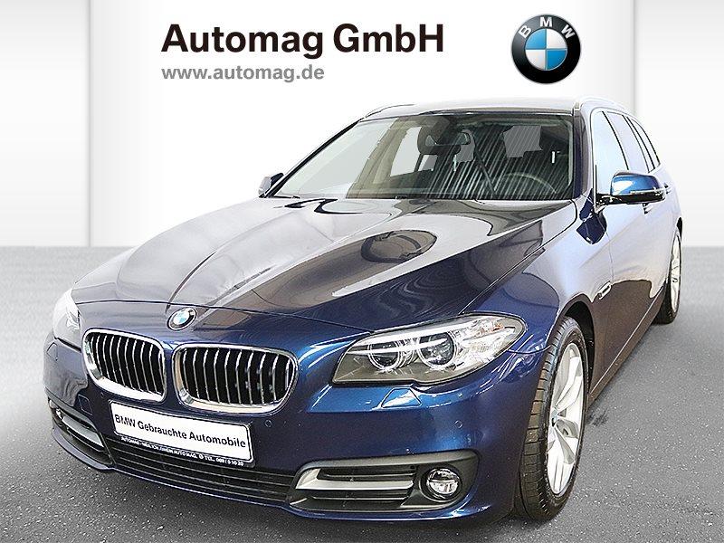 BMW 528i xDrive Touring*1.Hd.*Scheckheft*2J.Garantie*EditionSport*, Jahr 2016, petrol