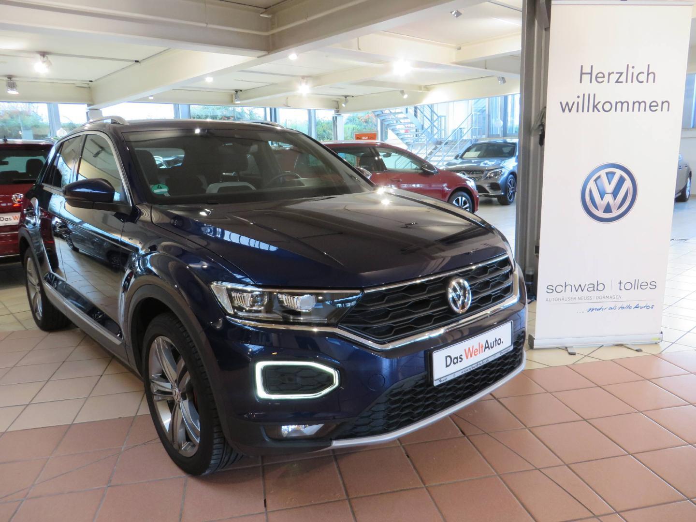 Volkswagen T-ROC Style 1.5 TSI OPF BMT 7-DSG Sport, Jahr 2019, Benzin