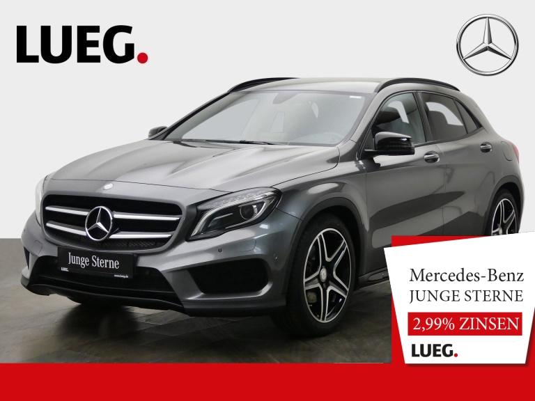 Mercedes-Benz GLA 250 AMG+Navi+BiXenon+19''+Night+elHeck+Kamer, Jahr 2016, Benzin