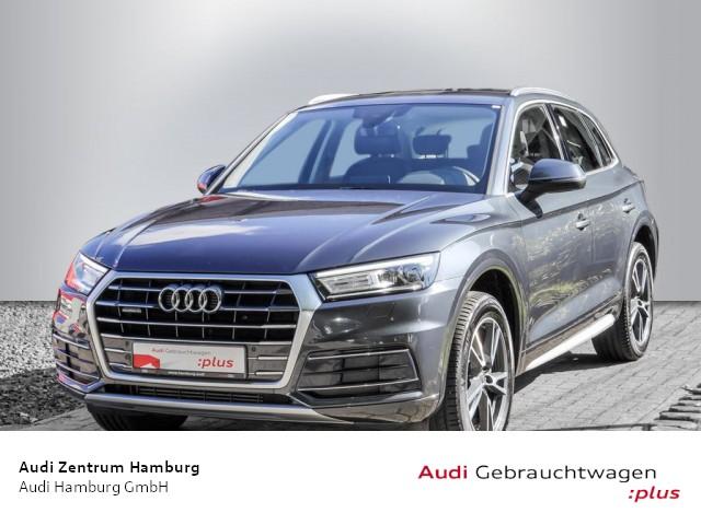 Audi Q5 2,0 TFSI design quattro S tronic VIRTUAL NAVI AHK, Jahr 2018, Benzin