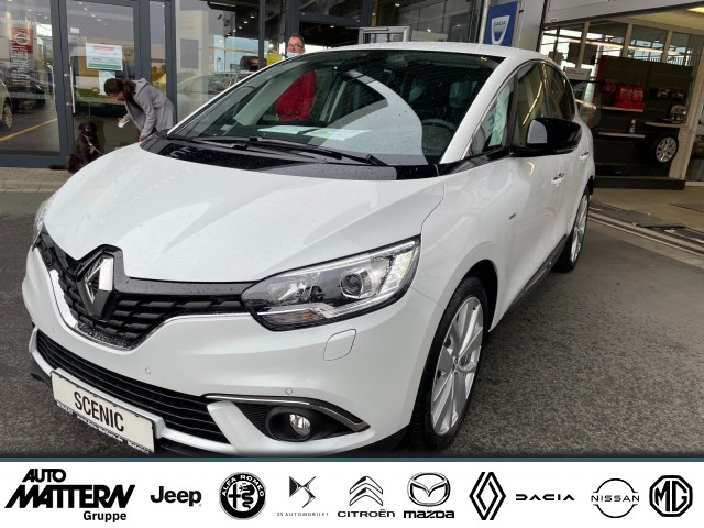 Renault Scenic IV LIMITED Deluxe TCe 140 EDC PDC, KAM,SH, Jahr 2021, Benzin