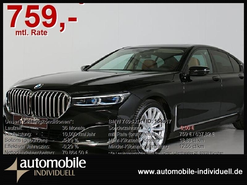 BMW 740d xDr Laser ACC DAB HuD H&K LiveCockpitPro, Jahr 2020, Diesel