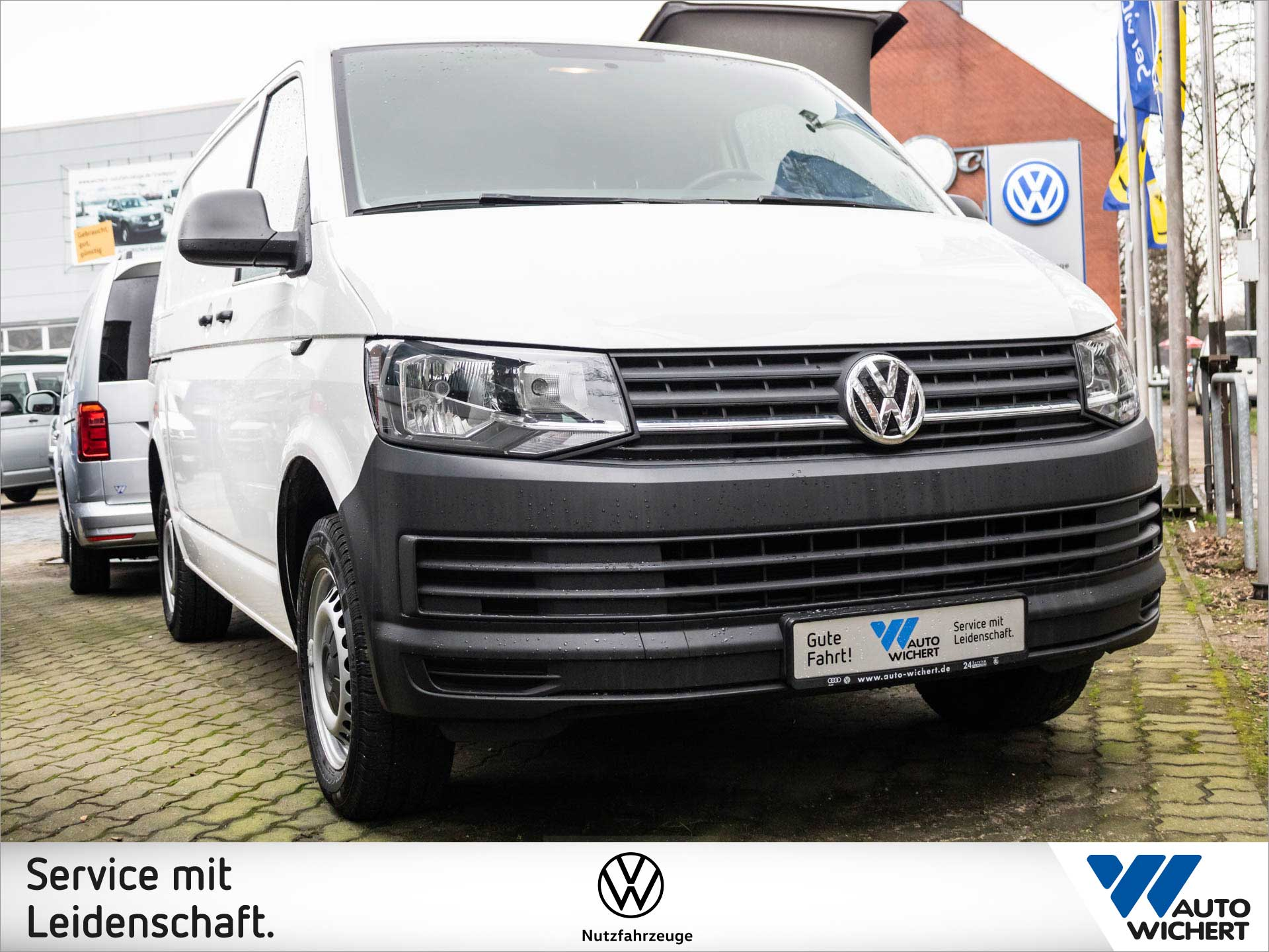 Volkswagen T6 Transporter Kasten 2.0 TDI 5-Gang AHK, Jahr 2016, Diesel