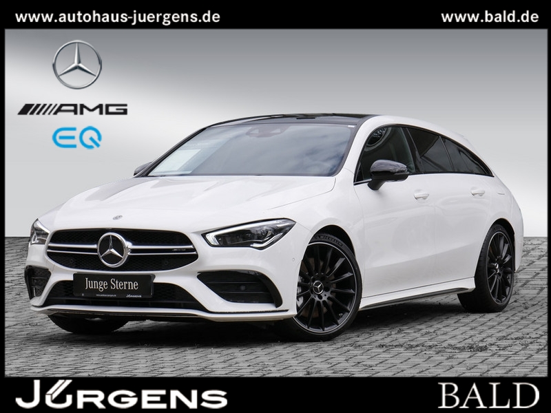 Mercedes-Benz CLA 35 AMG 4M SB Navi/ILS/Pano/Burm/360/Totw/DAB, Jahr 2020, Benzin