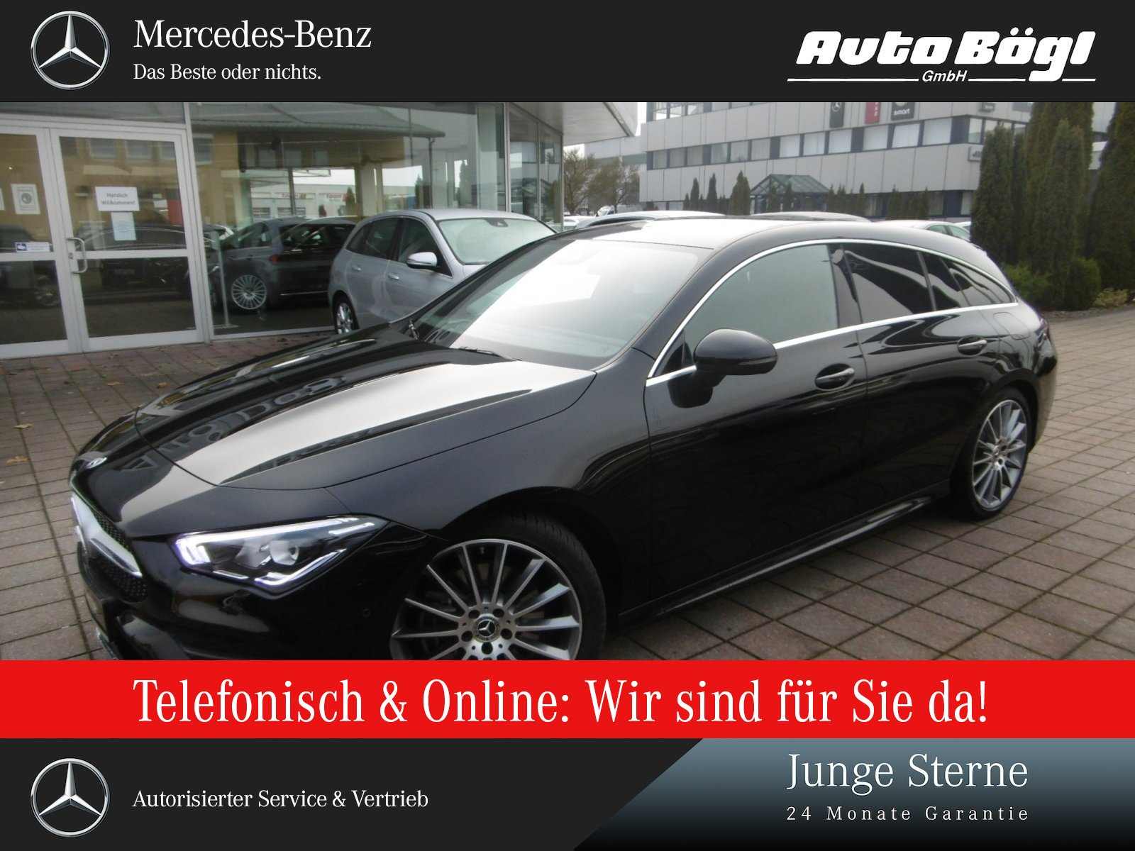 Mercedes-Benz CLA 220 Shooting Brake AMG Line/Navi/Styling/LED, Jahr 2019, Benzin