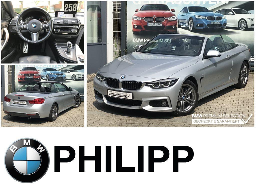 BMW 440i Cabrio M Sportpaket DA HUD h&k RFK LED, Jahr 2017, Benzin