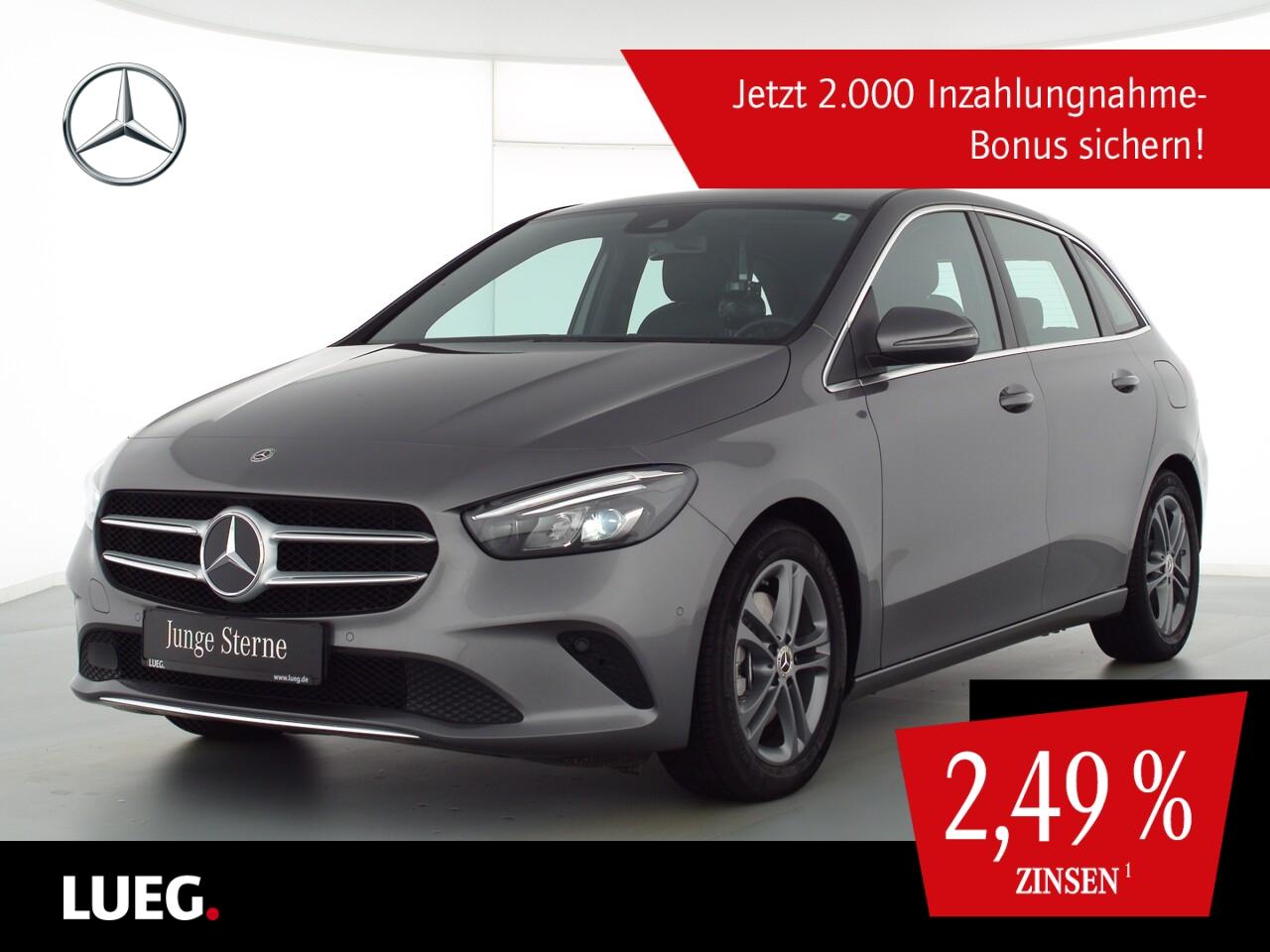 Mercedes-Benz B 220 4M Progressive+MBUX+NavPr+LED-HP+ParkA+RFK, Jahr 2020, Benzin