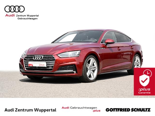 Audi A5 Spb 2.0TDI 2X S-LINE LEDER LED CONNECT NAV SHZ PDC VO HI 19ZOLL, Jahr 2018, Diesel