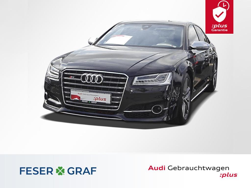 Audi S8 4.0 TFSI qu.tiptronic LED+Luftfeder.+Standhz, Jahr 2015, petrol
