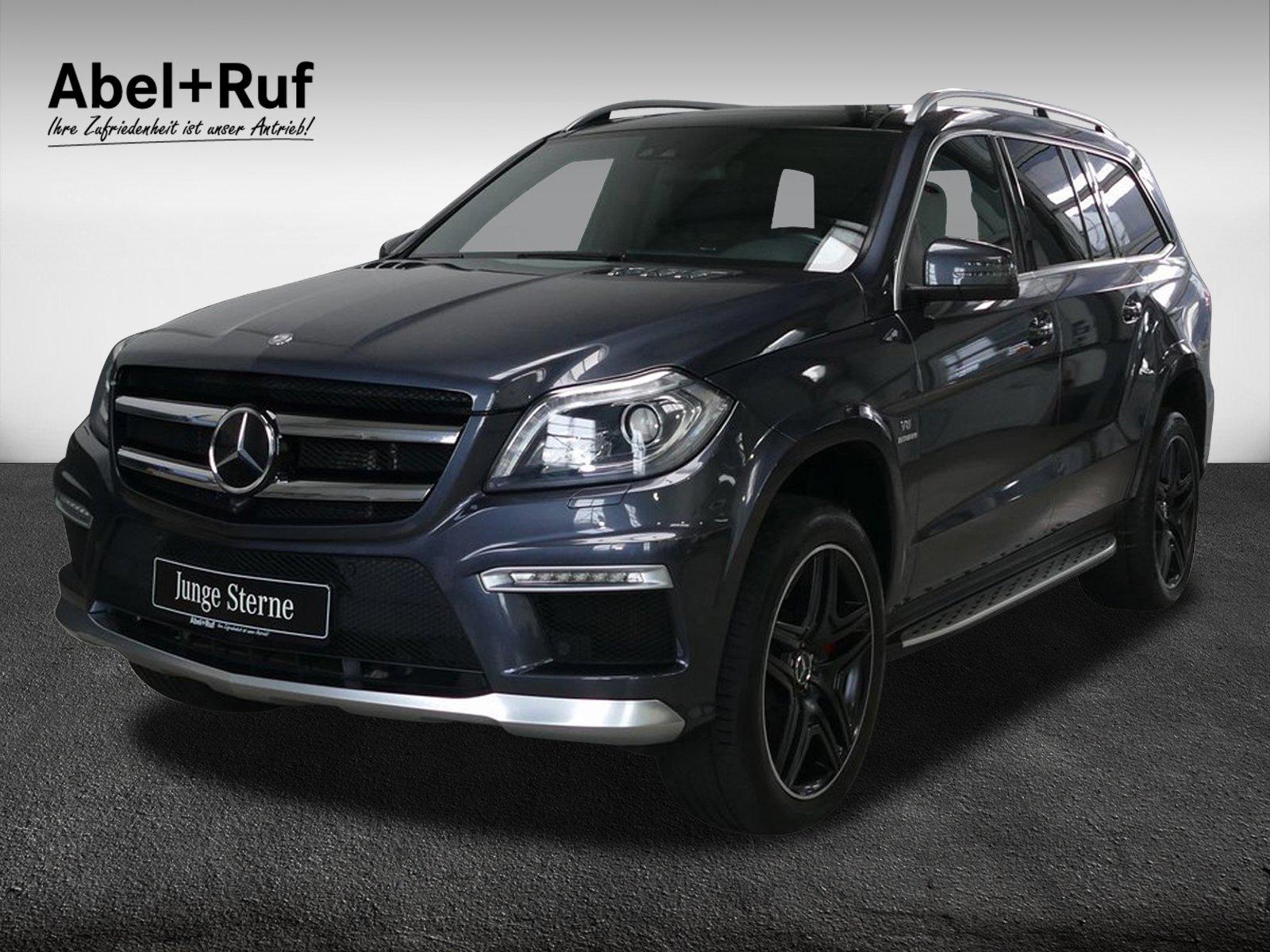 Mercedes-Benz GL 63 AMG+Distronic+Comand+Panorama+Standhzg+AHK, Jahr 2016, Benzin